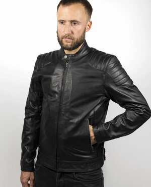 ROADSTER LEATHER JACKET WITH KEVLAR ®