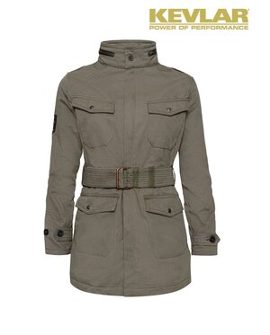 WOMENS KEVLAR FIELD JACKET OLIVE