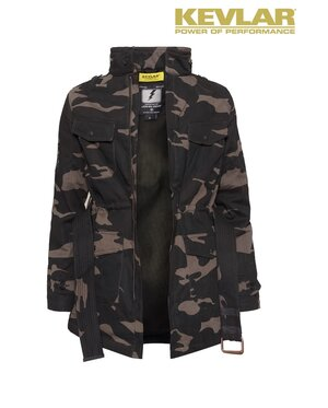 WOMENS KEVLAR FIELD JACKET CAMOUFLAGE