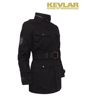 WOMENS KEVLAR FIELD JACKET BLACK