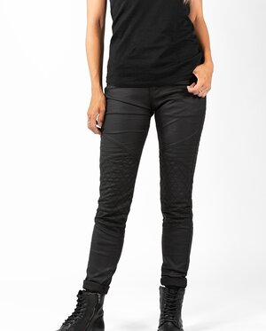 BETTY BIKER JEGGINS BLACK